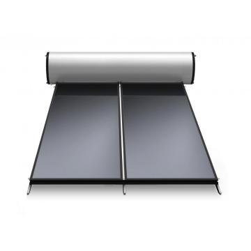 Solar evacuated tube water heater