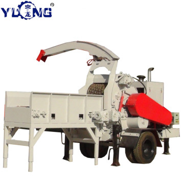 Yulong T-Rex65120A diesel wood chipper self power