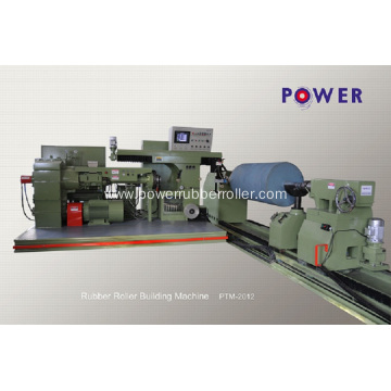 Heavy Industrial Rubber Roller Covering Machine