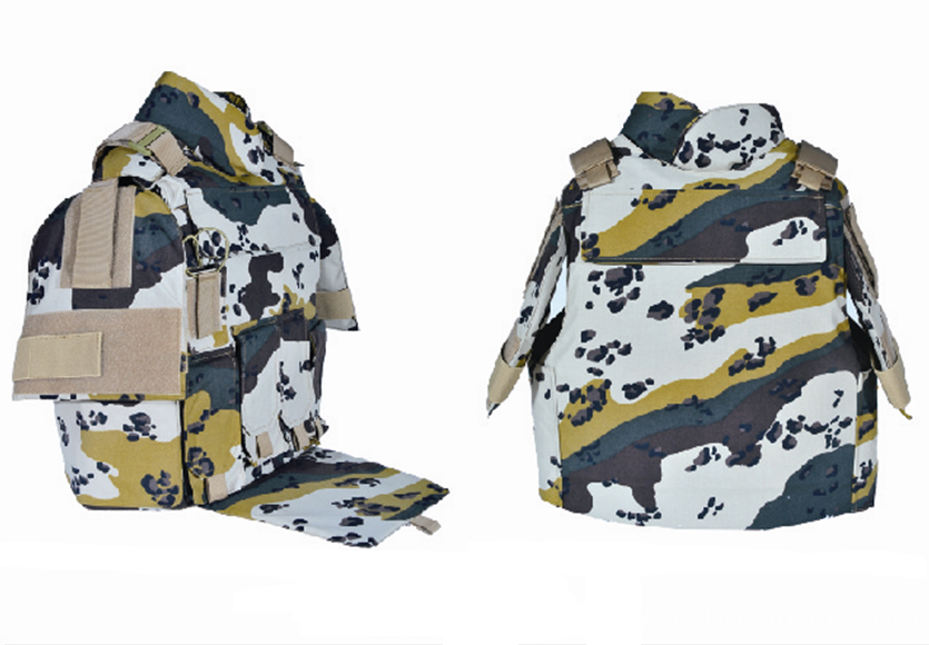 Camouflage Full Protection Bulletproof Vest