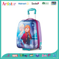 DISNEY FROZEN purple trolley bag