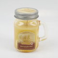 Scented Citronella Candles in Glass Mason Jar