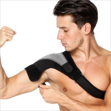 Neoprene elastic single shoulder brace support
