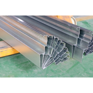 metal profiles track wall for warehose rack
