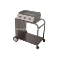 Three Gas Burner Grill Top Cooker