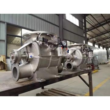 Blow Through Rotary Valve
