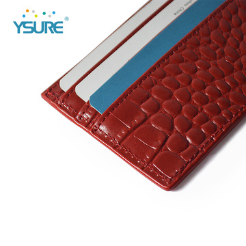 High Capacity Pu Leather ID Credit Card Holder