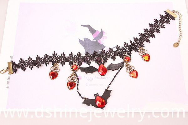 Red gem necklace