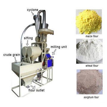 Small Capacity Grain Flour Mill