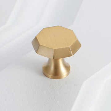 Brushed Brass Gold Cabinet Knobs
