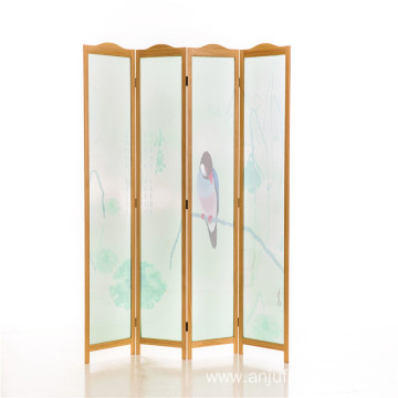 High Quality Folding wood room divider screen
