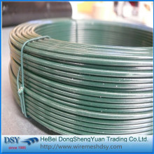 Green PVC Coating Binding Tie Wire