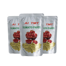 Leading Manufacturer for for Tomato Sauce Packaging Plastic Bag Flat Sachet Tomato Paste export to South Korea Factories