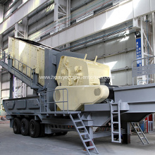 Low Cost for Mobile Impact Crusher Mobile Concrete Crusher Portable Stone Crusher Machine supply to Lithuania Supplier