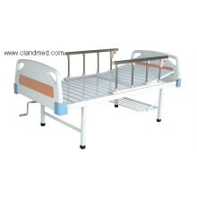 ABS double-folding bed