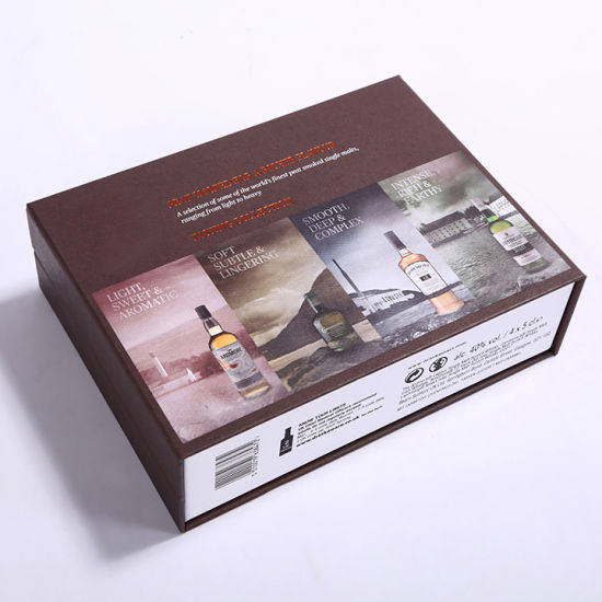 New Design Wine Bottle Box Gift Cardboard Packaging
