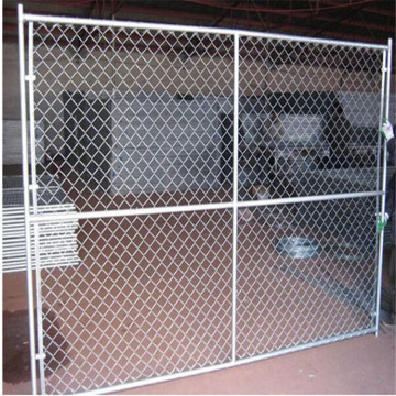 American galvanized chain link fence system for construction