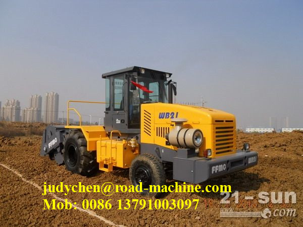 WB18 Heavy Construction Equipment 1800mm soil stablizer