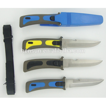 Hot Sale Scuba Diving Knife with Colorful Handle