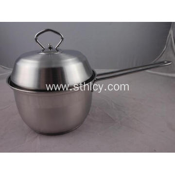 Stainless Steel Milk Pot Cooking Pot with Lid
