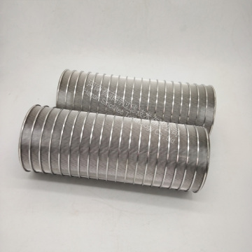 Slotted Wedge Wire Screen Panels Formed Filter
