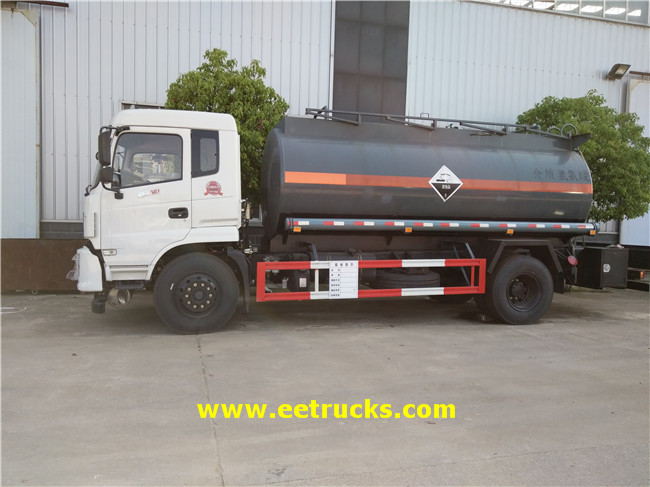 Dongfeng Hydrochloric Acid Transport Tankers