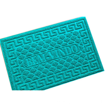 Newly colors PVC entrance door outdoor coil mat