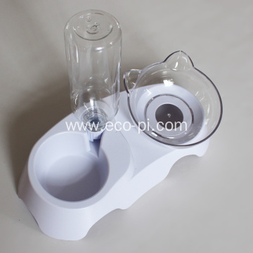 Adjustable 15 Degrees Cervical Protective Pet Drinking Bowl