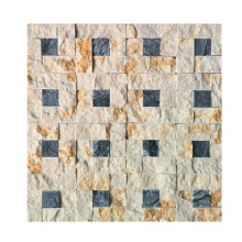 Top for Marble Mosaic Floor Tile Colorful Marble Natural Square Stone Mosaics supply to France Manufacturers
