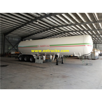 25-30 Ton Tri-axle LPG Road Semi-trailers