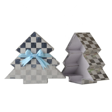 Creative Holiday Christmas Tree Shaped Gift Boxes