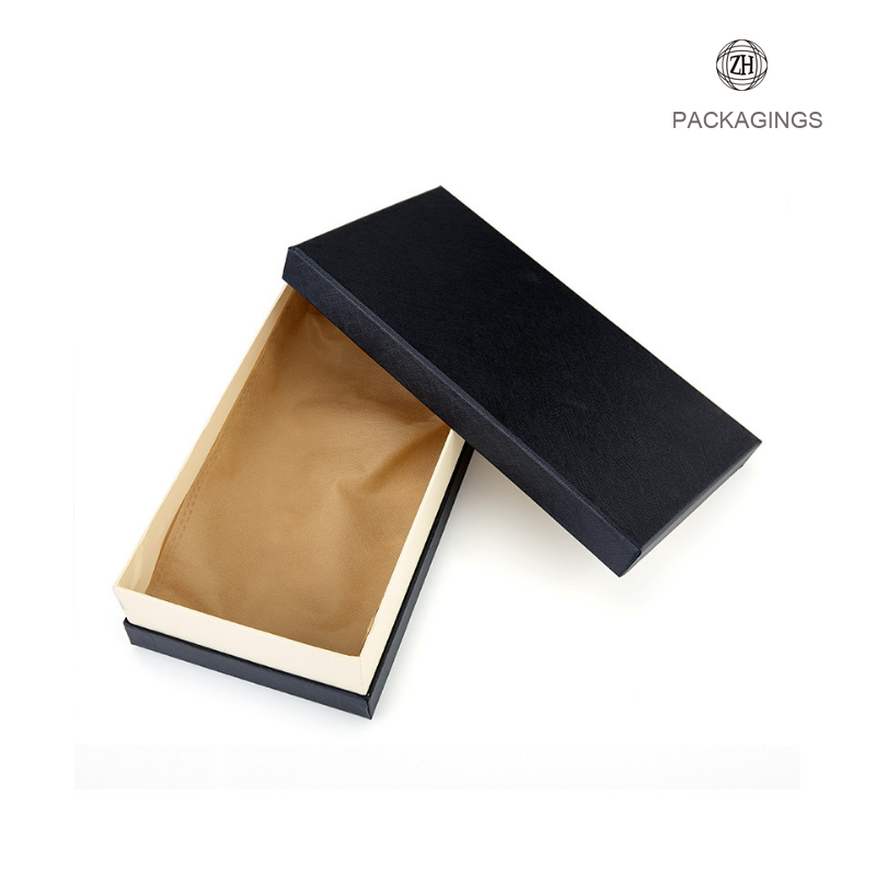 Custom handmade wallet paper packaging box
