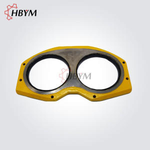 Putzmeister Concrete Pump Wear Spectacle Plate