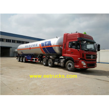 Low MOQ for 40-60M3 LPG Tank Trailers 15500 Gallon 24 Ton LPG Trailer Tankers export to China Taiwan Suppliers