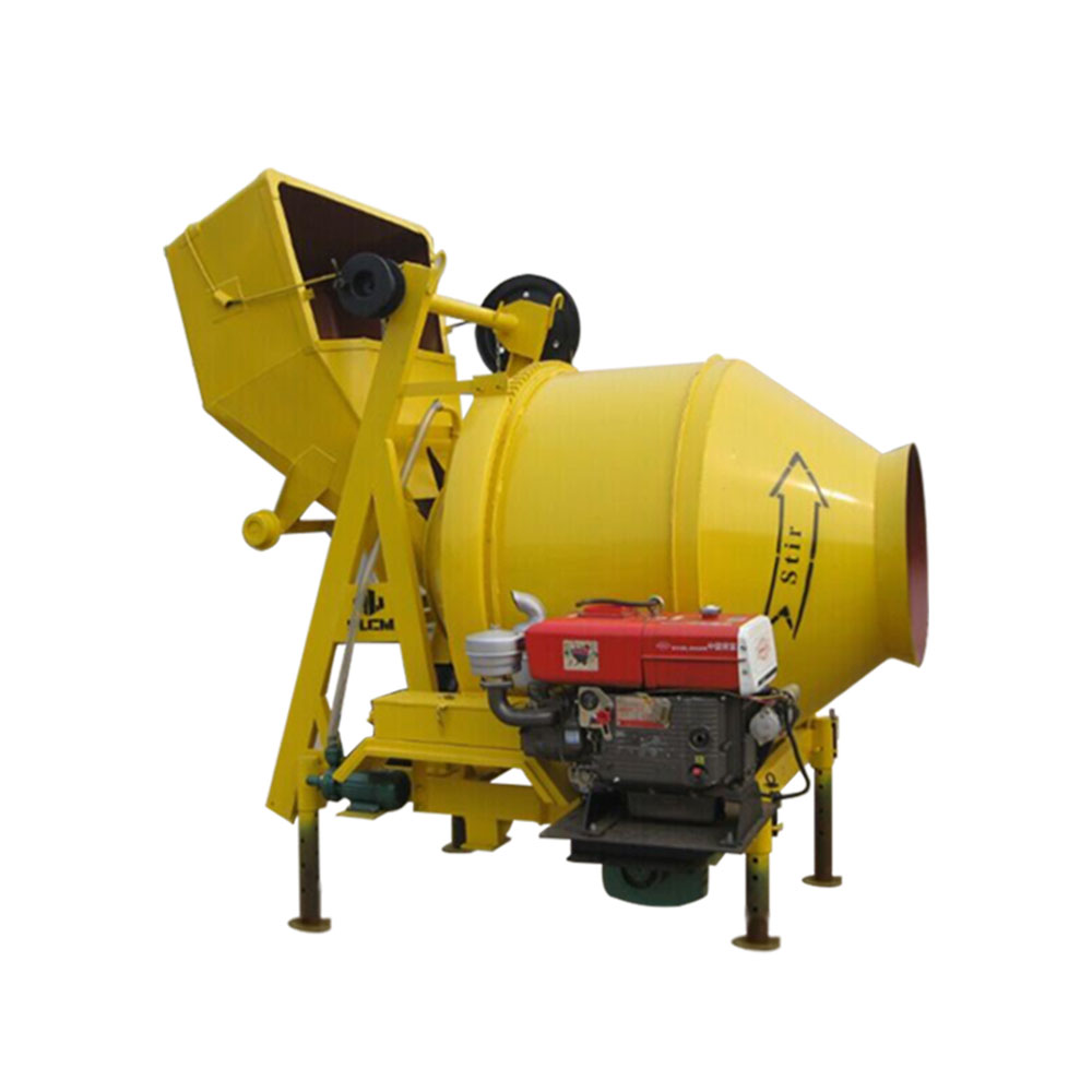 small drum concrete mixer