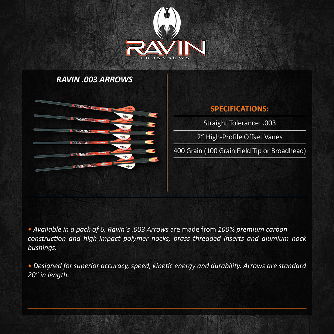 Ravin_003_Arrows_Product_Description