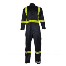 lightweight anti fire electrician coveralls with reflector