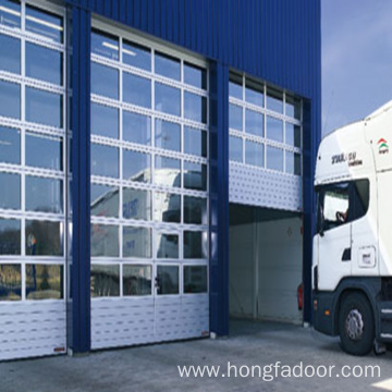 High quality factory for Industrial Sectional Door Transparent Sectional Acrylic Garage Door supply to Liechtenstein Importers