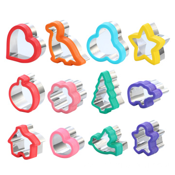 Christmas cookie cutter set sandwich cutter set
