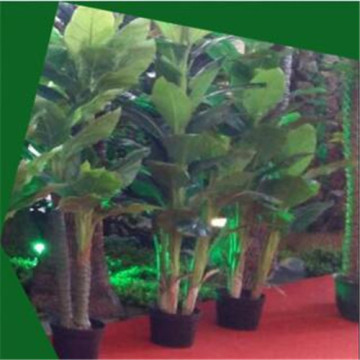 China Gold Supplier for China Artificial Trees,Artificial Palm Tre,Artificial Tree for Weddings,Decorative Plants Artificial Trees Supplier Artificial musa basjoo pot supply to Italy Wholesale