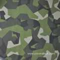 High quality price fire retardant blue camouflage fabric