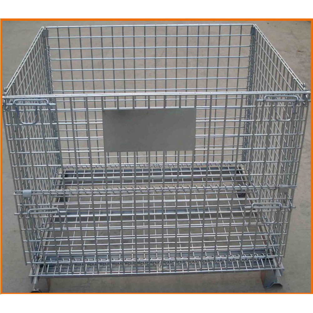 Full Security Warehouse Wire Container China Manufacturer