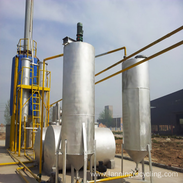lanning waste oil refinery