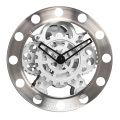 large size gear clock for wall decoration
