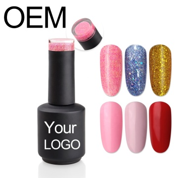 OEM Gel Nail Customized UV Gel Polish