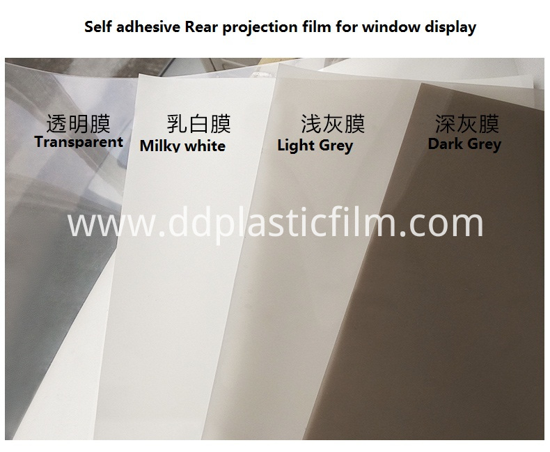 adhesive Holographic rear projection screen film (26)