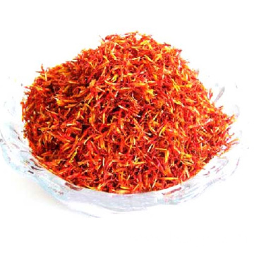 safflower herb slice tea