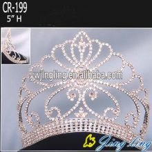 Gold Beauty Queen Crowns