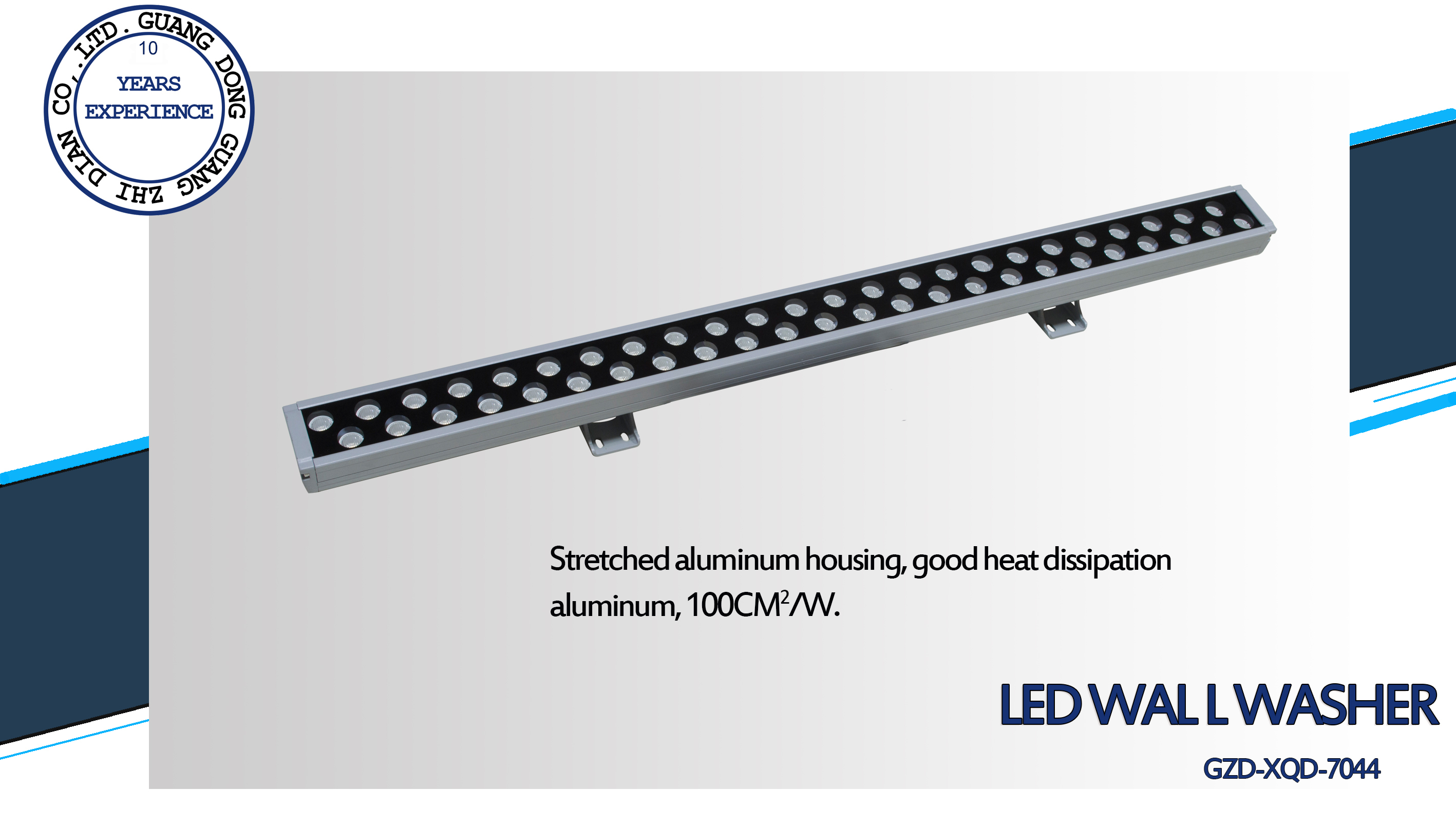 1 led wall washer