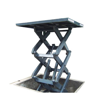 Stationary Hydraulic Scissor Lift Table